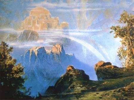 Max Bruckner's Walhalla (1896). Image via Wikipedia.