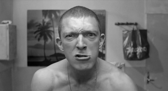 La Haine's Vinz as the all-too-obvious poseur. (Courtesy A2 Film Studies.)