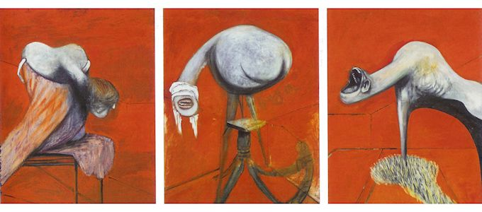 Art Of Francis Bacon Three Studies Crucifixion