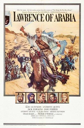 David Lean's Lawrence of Arabia. Image via Wikipedia.