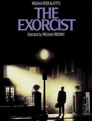 The Exorcist, via the original poster. Guardian.
