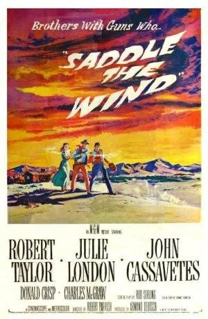 Saddle The Wind John Cassavetes Robert Taylor