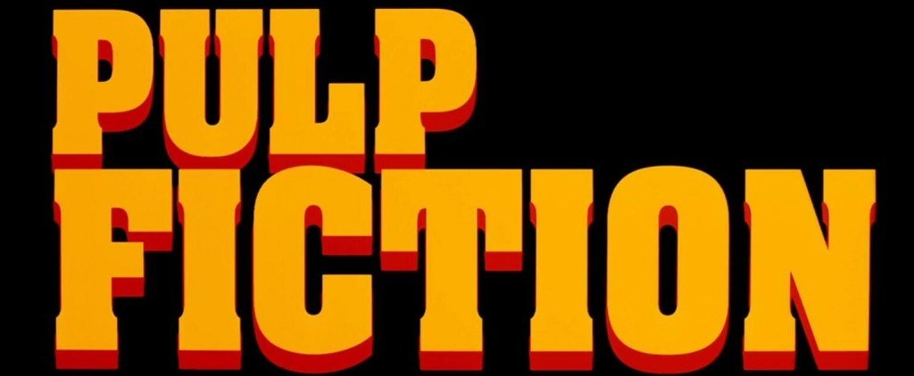 Pulp Fiction Logo Tarantino