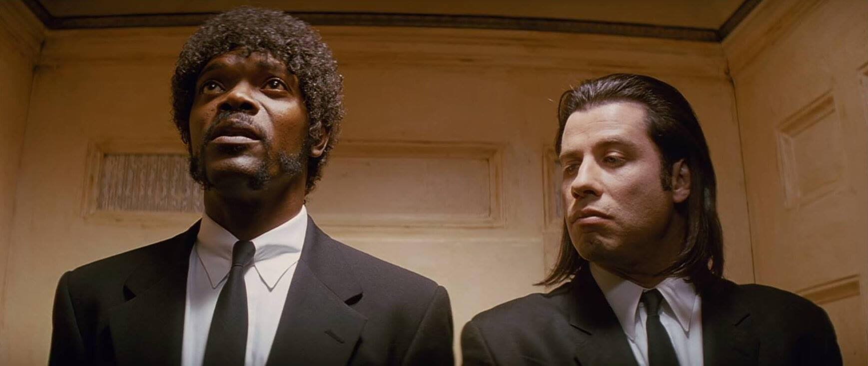 a comparison of john travolta and samuel l jackson in pulp fiction Pulp fiction uma thurman, bruce  all outclassed by the revitalised john travolta and the then largely unknown samuel vpn comparison guide l jackson.