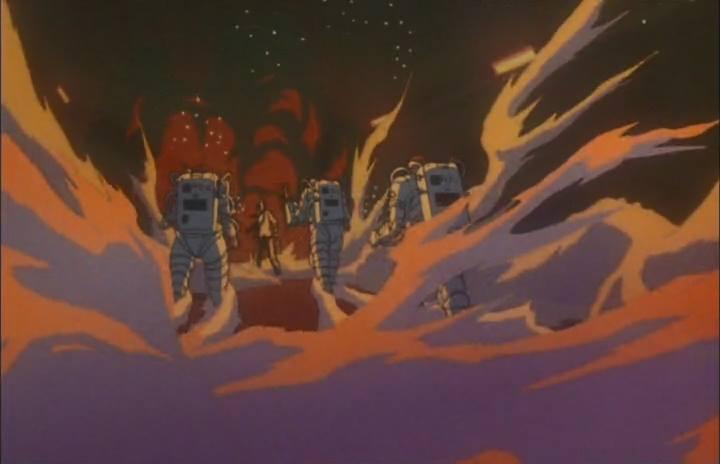 """Stink Bomb's """"pre-natal"""" scene."""