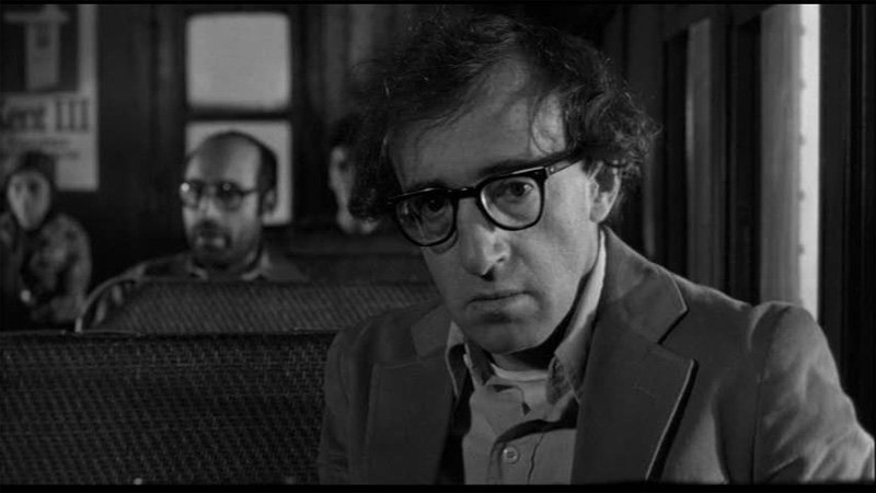 Woody Allen as Sandy Bates in Stardust Memories.