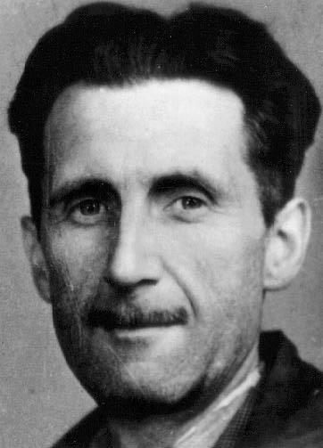 George Orwell is a social force, but not really an artist.