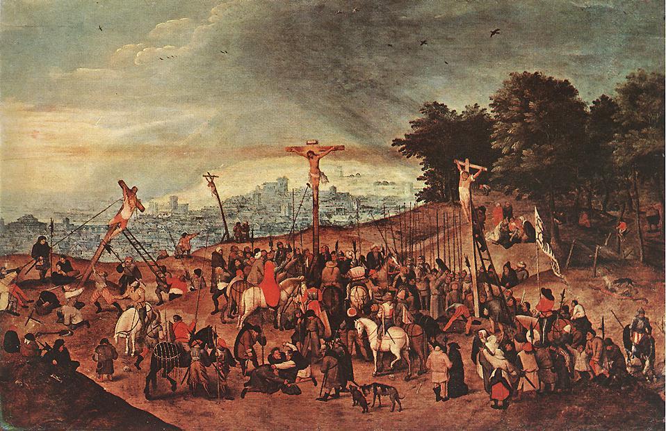 "Brueghel's ""Crucifixion"" (1617)"