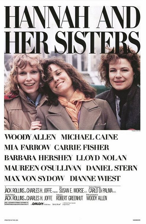 Woody Allen's Greatest Films Hannah And Her Sisters