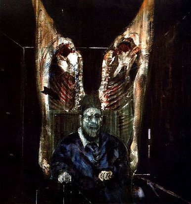 Art Of Francis Bacon Figure With Meat