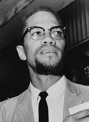 Malcolm X. Image via Wikipedia.