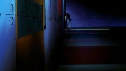 Neon Genesis Evangelion Misato Shinji Kiss