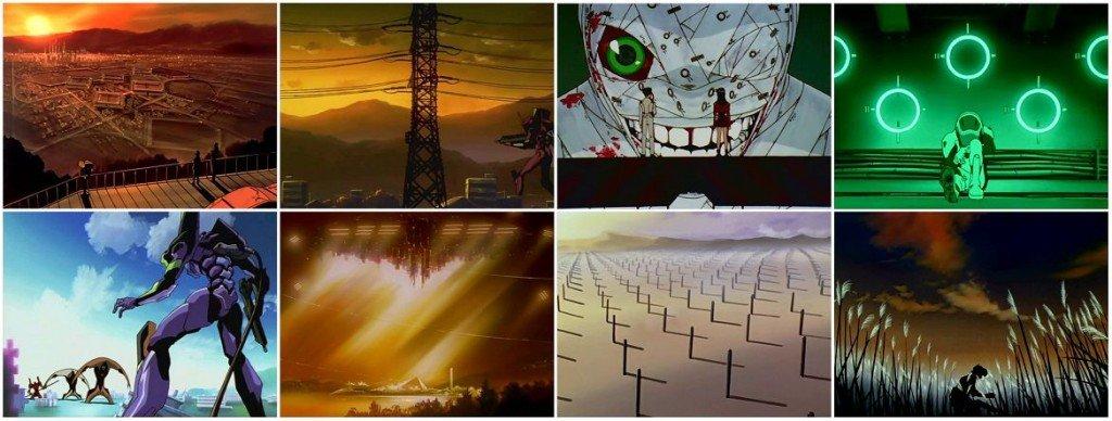 Neon Genesis Evangelion Screenshots Misato Shinji Tokyo