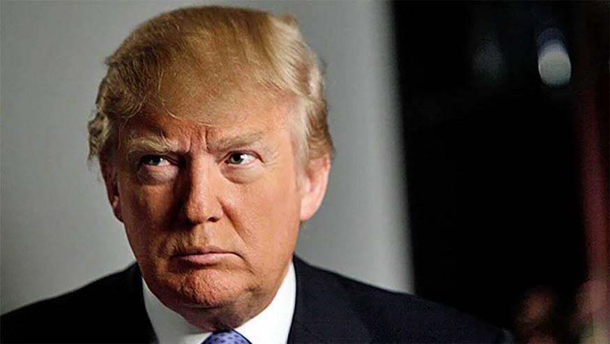 Donald Trump Alex Sheremet Paralytic Gaze