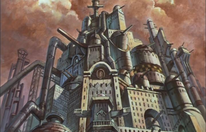 Katsuhiro Otomo's Memories Cannon Fodder City