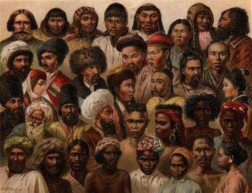A group of race-diverse people from Asia